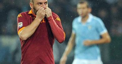 De Rossi AS Roma Derby