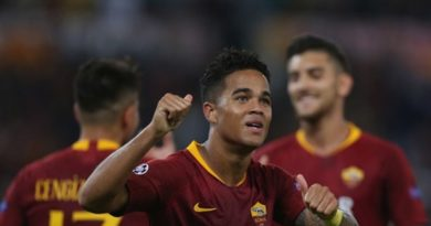 kluivert justin as roma